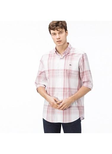 Lacoste Erkek Regular Gömlek CH0901.01T Kırmızı